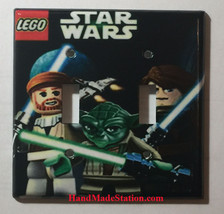Lego Star Wars Light Switch Duplex Outlet Power wall Cover Plate Home decor image 4