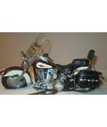 Harley Davidson Franklin Mint Heritage Softail Diecast Classico Moto - $98.14