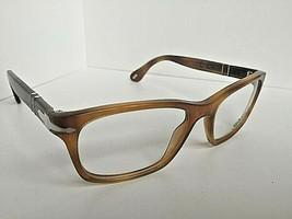 New Persol 3012-V 1018 Camel 54mm Rx Men's Eyeglasses Frame Hand Made in Italy - $169.99