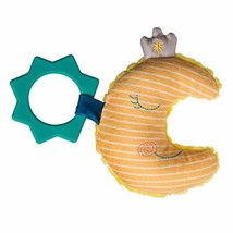 "Mary Meyer Teether Baby Rattle, 6"", Cosmo Crescent Moon - $12.99"