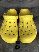 Crocs Baya Unisex Clog Sandals Comfort Yellow Men 9 Women 11 10126-7C1 Nwt - $44.99