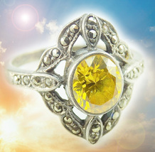 CASSIA4 HAUNTED RING ILLUMINATI TRANSMUTE NEG TO POS MAGICK MYSTICAL TREASURES  - $377.77