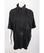 Adidas Mens Climaproof 3 Way convertible Storm Jacket XL Black Rain Coat... - $59.39