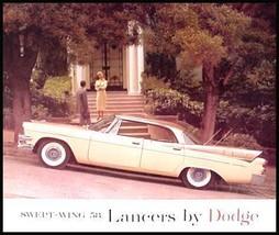 1958 Dodge Lancer Prestige Sales Brochure NOS Xlnt Original - $18.49
