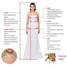 V Neck Floor Length Applique Open Back A Line Backless Bridal Gown image 5