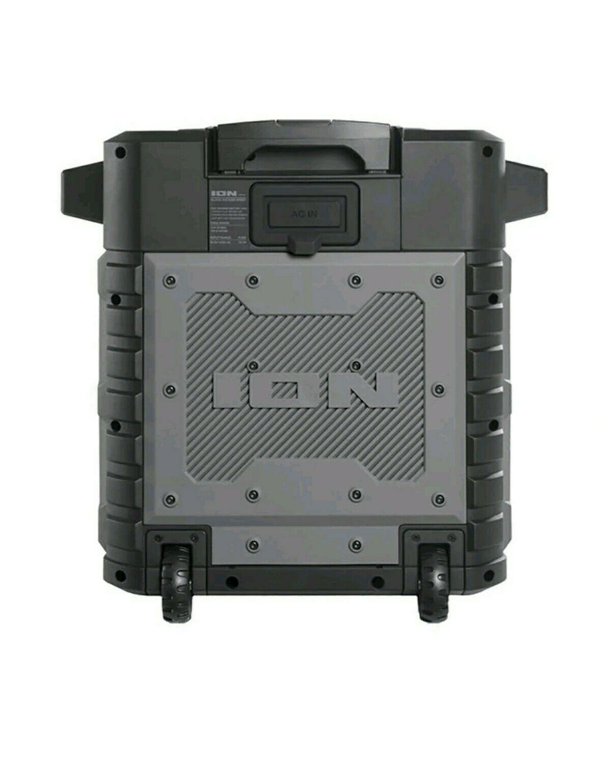 ION Audio Pathfinder Portable Bluetooth ALL WEATHER Speaker w/ Radio  ipa79a