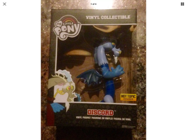"NEW IN BOX-MY LITTLE PONY-FUNKO-VINYL COLLECTIBLE DISCORD 8"" HOT TOPIC E... - $19.99"