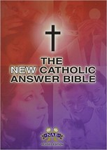 The NEW Catholic Answer Bible Librosario NABRE (Black) LARGE PRINT by Fi... - $65.95