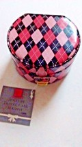Ring Jewelry Box Holder By Totes Travel Case Pink & Black Diamond Mirror... - $14.95