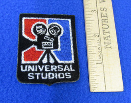 Universal Studio Patch California Movie Production Camera Black Red Blue... - $9.89