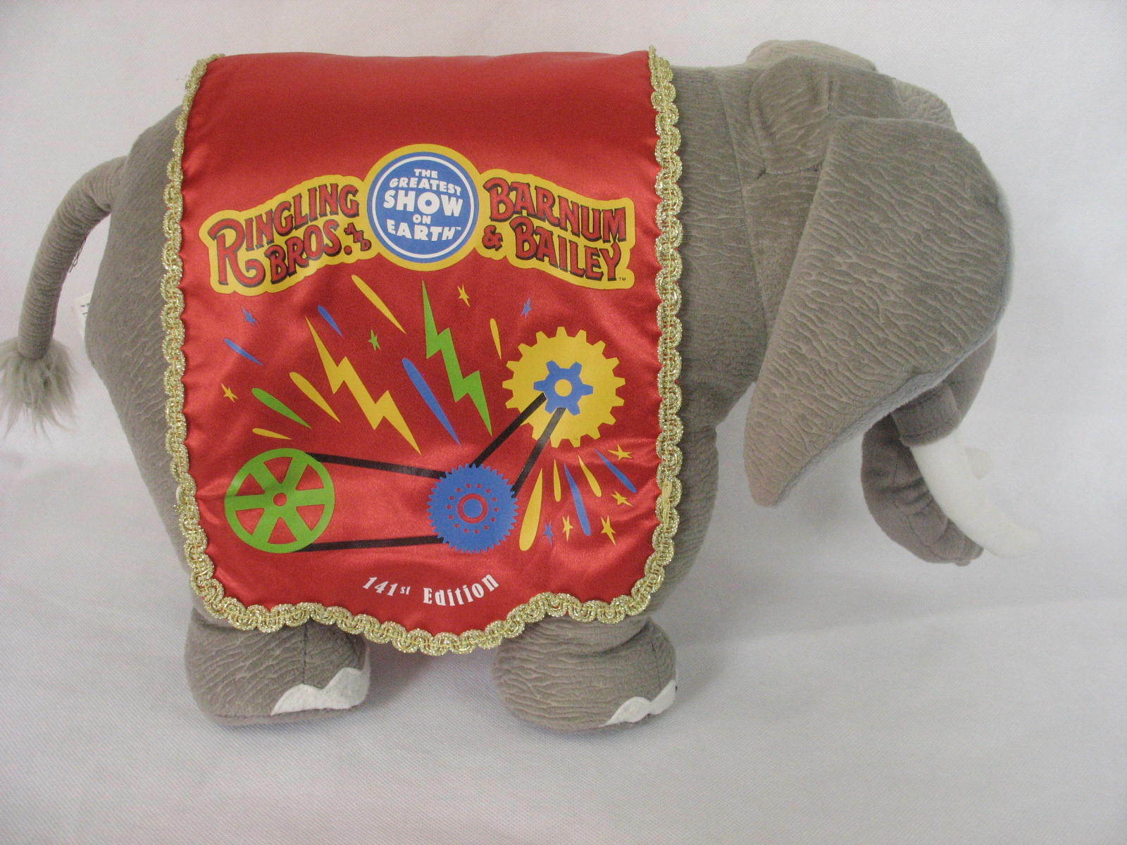 Ringling Bros Barnum and Bailey 141st Edition Circus Elephant Stuffed Plush image 4