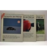 1983-84 The American West Magazine lot of 3 - Bonneville Salt Flats/ fis... - $8.50