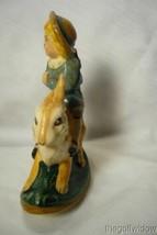 Vaillancourt Folk Art Limited Ed. Boy on Rocking Rabbit signed by Judi! image 2