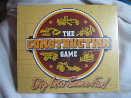 The Construction Game. Board game. 2002. New. Ages 10 to Adult. - $80.00