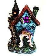 Haunted House LED Color Changing Lights Halloween Holiday Decor 7.5 inch... - $18.80