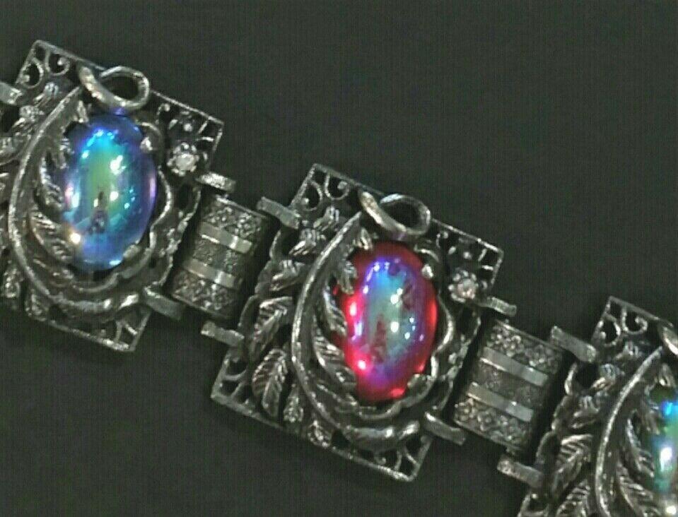 Vintage Judy Lee bracelet and earring set