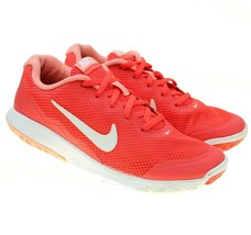 NIKE FLEX Experience Run 4 Womens Coral Pink Running Shoes Sneakers Size... - $29.69