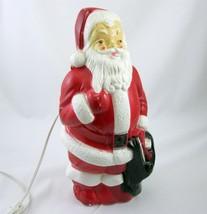 Empire Blow Mold Small Santa Claus 023655 Vintage 1988 - $39.99