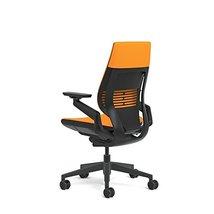 Steelcase Gesture Office Chair - Cogent Connect Tangerine Orange Upholst... - $925.65