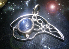 HAUNTED NECKLACE THE KEEPER OF SECRETS HALLOWEEN RARE SAMHAIN EXTREME MA... - $169.77