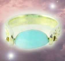 HAUNTED SPINNING RING EXTREME MAGNIFYING POWER EXTREME MAGICK MYSTICAL WITCH - $397.77
