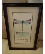 Dragonfly Watercolor Pen & Ink Original Art Print Wall Art Decor J. Ston... - $24.70
