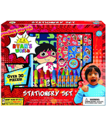 Ryan's World Coloring Art Set for Boys Girls Stickers + Pencil Pouch Sta... - $20.00