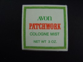 Avon Patchwork Cologne Mist 3 Fl Oz Original Box Vintage 1970s - $7.91