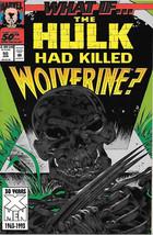 What If? Comic Book Vol 2 #50 The Hulk Marvel Comics 1993 NEAR MINT NEW ... - $7.84