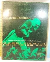 Vintage 1969 Computer Football Computer-Circuit Game Electronic Data Con... - $44.55