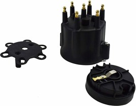 A-Team Performance 6-Cylinder Male Pro Series Distributor Cap & Rotor Kit BLACK image 2