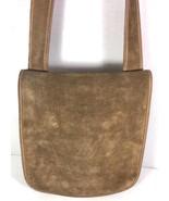 Coach Bonnie Cashin for Meyers Vintage Brown Suede Flap Shoulder Bag-Rare - $87.29