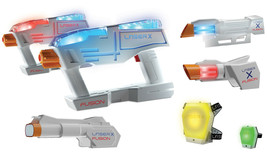Laser Tags Blaster Toy Gun Playset with Accessories Indoor Outdoor Shoot... - $88.19