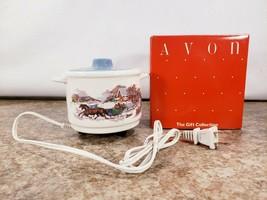 Avon Country Gathering Electric Potpourri Pot No Refill Handles Lid  - $24.23