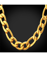 HipHop Gold 12mm Chuy lace Ma 316L stainless Steel/18K Real Gold Plated ... - $22.99+