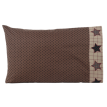 4-pc Bingham Star Pillow Case Set - Country Charm - Ditsy Stars - VHC Brands