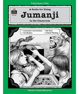 A Guide for Using Jumanji in the Classroom (Literature Unit Series) Dido... - $8.86