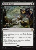 Toxic Deluge FOIL x1 Eternal Masters, EMA, MAGIC LIGHT PLAY MTG - $69.99