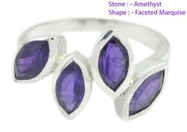 splendiferous Amethyst 925 Sterling Silver Ring Natural gift for valenti... - $22.55