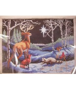 Silent Night Sealed Cross Stitch Kit 16x12 Designs For The Needle Christmas - $17.95