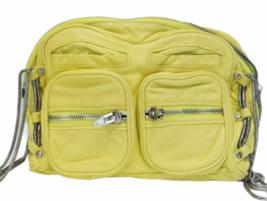 ALEXANDER WANG BRENDA Yellow Leather Crossbody Bag Purse Silver Hardware Dustbag image 5