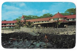 Kona Inn Kailua Hawaii Hotel Resort Postcard Posted 1956 Billy Howell Photo - $3.99