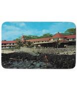 Kona Inn Kailua Hawaii Hotel Resort Postcard Posted 1956 Billy Howell Photo - $3.99