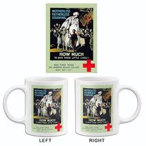 How Much To Save Little Lives - Red Cross - 1918 - World War I - Propaga... - $23.99+