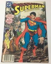 Superman No. 10 Comic Book DC Comics October 1987 by Byrne & Kesel Metro... - $12.36
