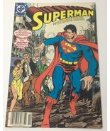 Superman No. 10 Comic Book DC Comics October 1987 by Byrne & Kesel Metro... - $12.36