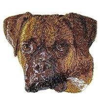"Amazing Dog Faces[ Boxer Dog Face] Embroidery Iron On/Sew patch [3.69"" x... - €6,81 EUR"
