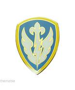 ARMY CSIB 504TH BATTLEFIELD SURVEILLANCE COMBAT SERVICE IDENTIFICATION B... - $27.07