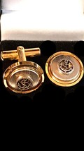 vintage anchor design Cufflinks in gift box cuff links unused vintage