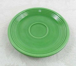 "Vintage Homer Laughlin Fiestaware Saucer Plate Medium Green 6""  - $14.84"